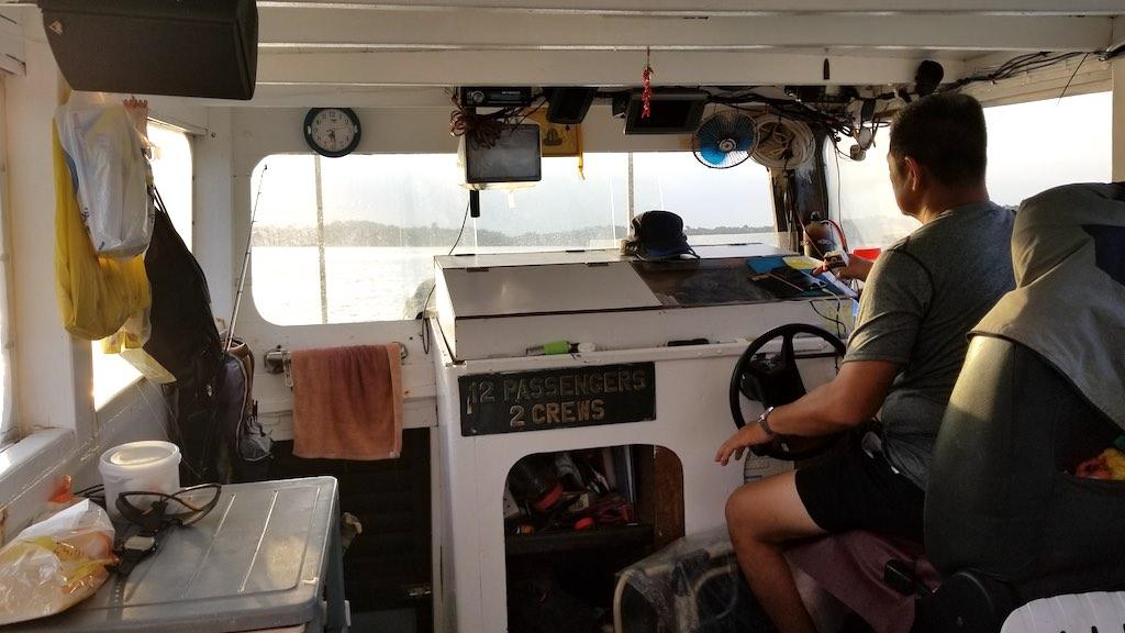 Pulau Ubin, Singapore - BumpBoat Driver