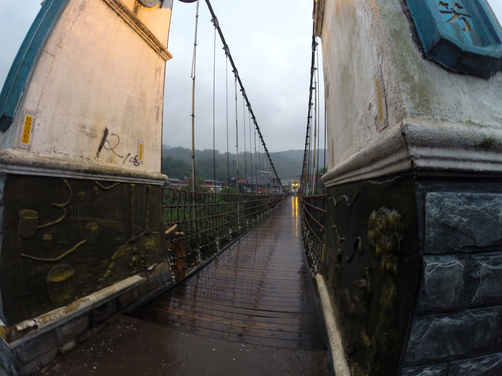 Shihfen, Taiwan - Jingan Bridge