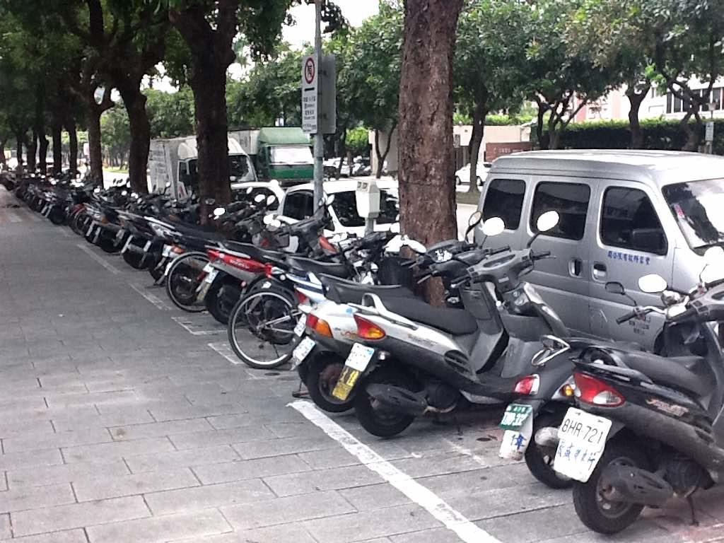 Taipei, Taiwan - Bikes