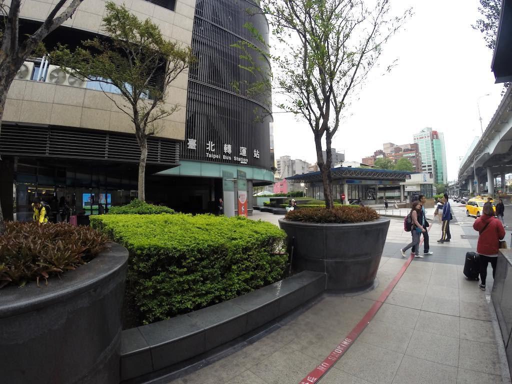 Taipei, Taiwan - Taipei Bus Station