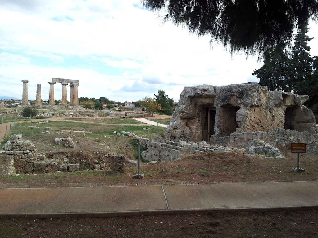 Ancient Corinth, Greece - Apollo Temple
