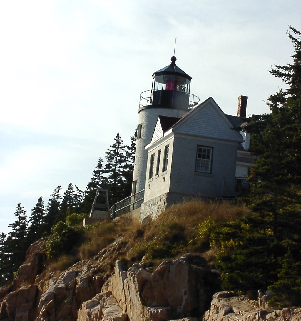 162 Bass Harbor Head Lighthouse Maine Usa Unfamiliar