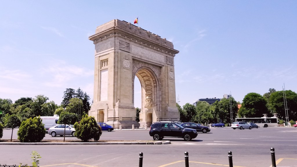 Bucharest, Romania - Arc de Triomphe