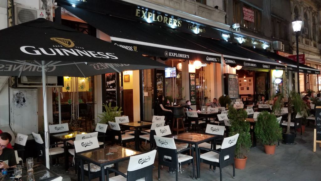 Bucharest, Romania - Explorers Irish Pub