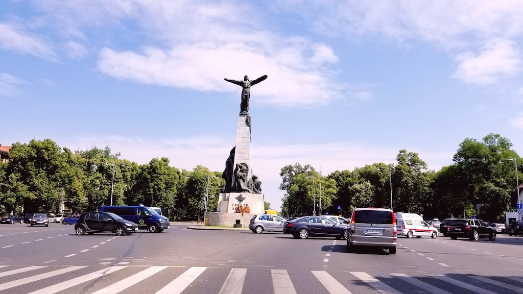 Bucharest, Romania - Monument to the Heroes of the Air