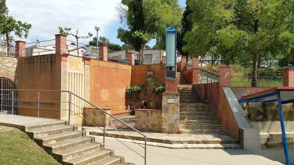 Caldes de Malavella, Girona, Spain - Font Raig D'en Mel