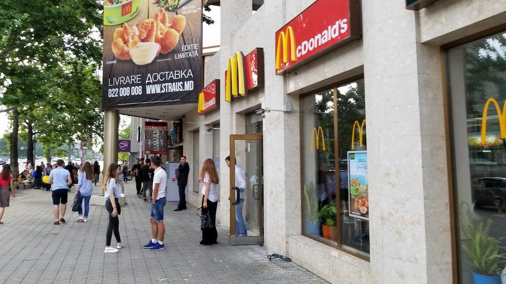 Chișinău, Republic of Moldova - McDonalds