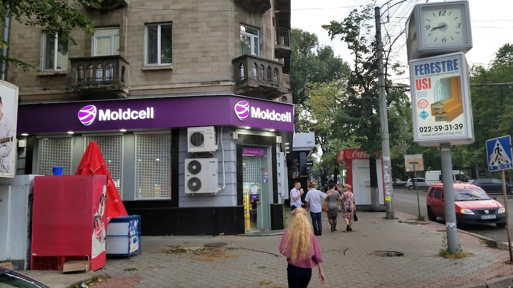 Chișinău, Republic of Moldova - Moldcell