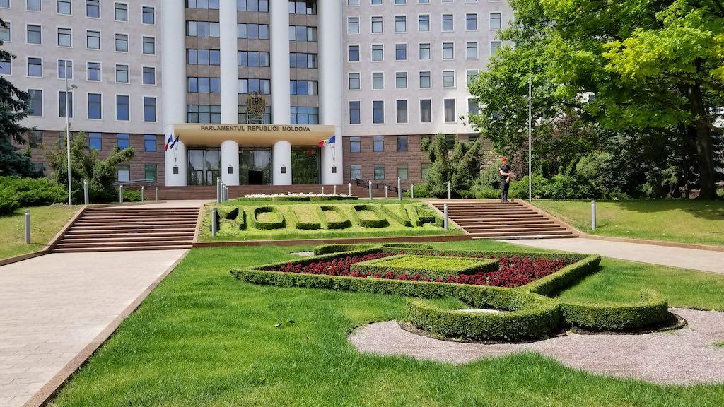Chișinău, Republic of Moldova - Moldova Parliament