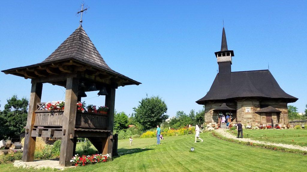 Chișinău, Republic of Moldova - The Wooden Church