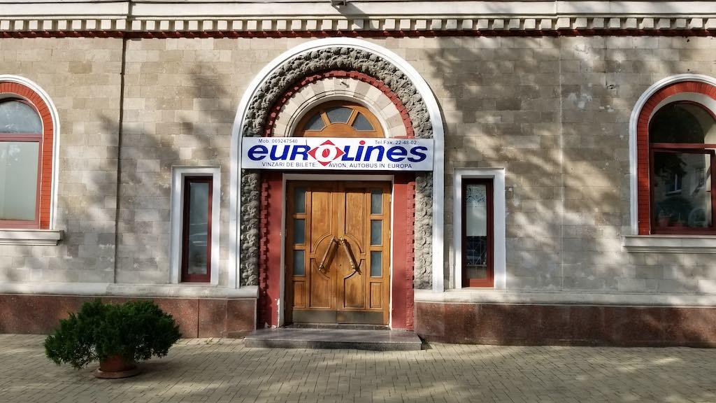 Chișinău, Republic of Moldova - Train Station - Eurolines