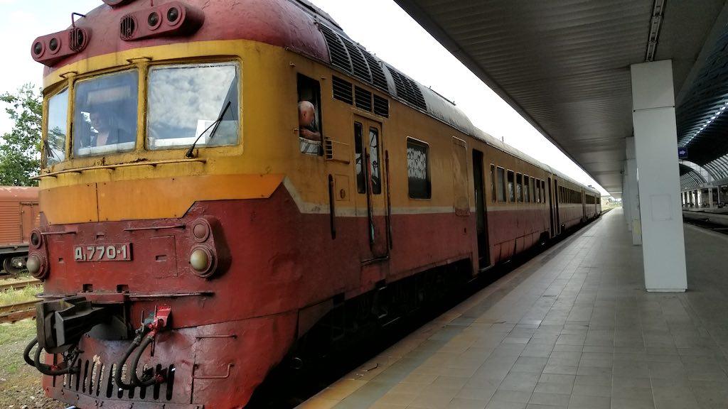 Chișinău, Republic of Moldova - Train Station -Train