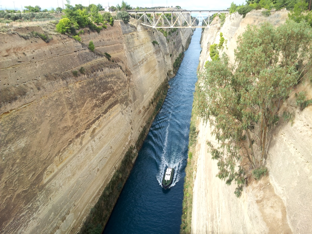Corinth Canal, Greece - Corinth Canal