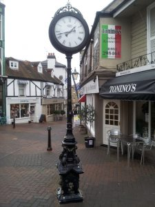 Cowes, Isle of Wight, United Kingdom - Clock