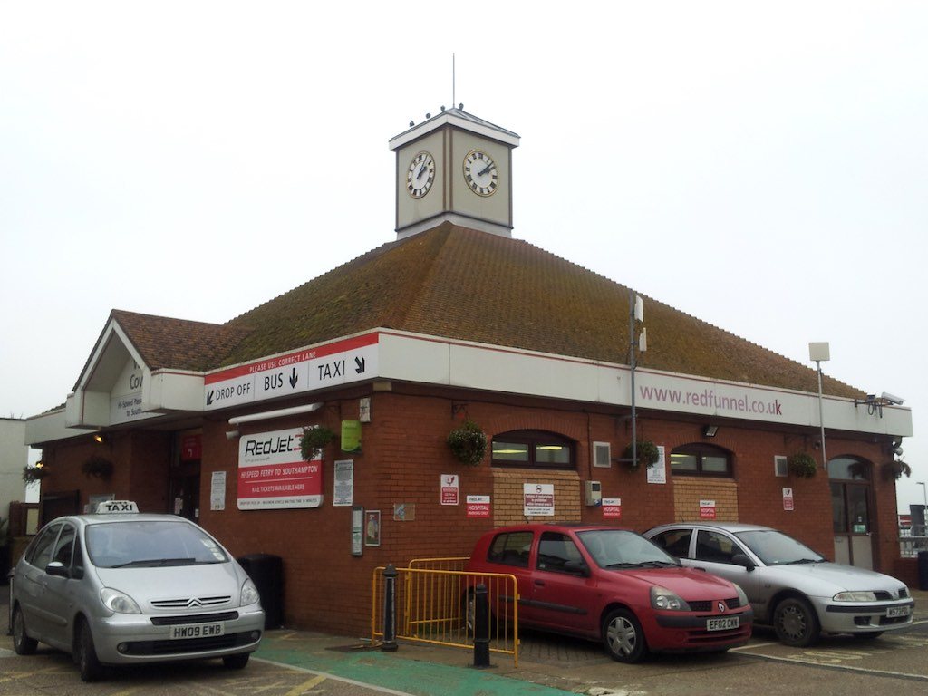 Cowes, Isle of Wight, United Kingdom - Ferry Terminal