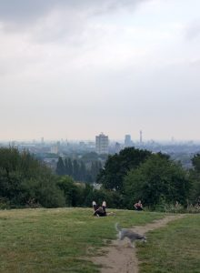Hampstead Heath, London, United Kingdom - View of the city
