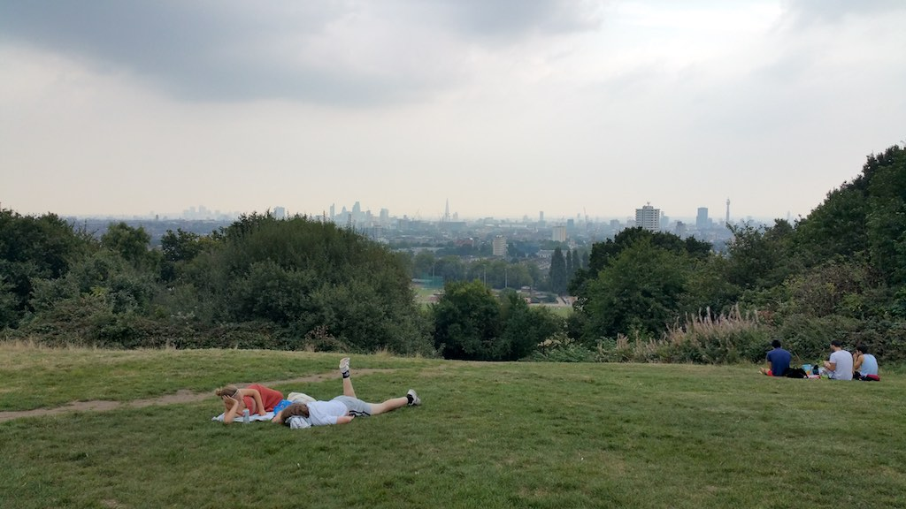 Hampstead Heath, United Kingdom - London View