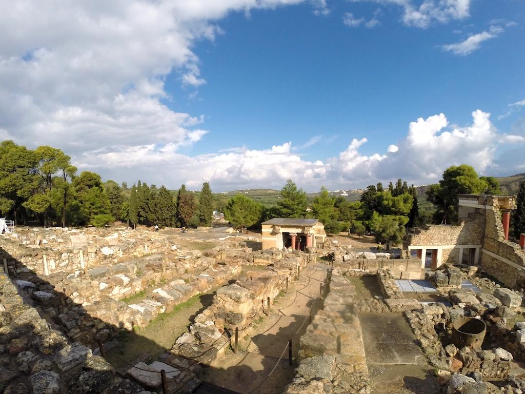 Heraklion, Crete Greece - Palace of Knossus