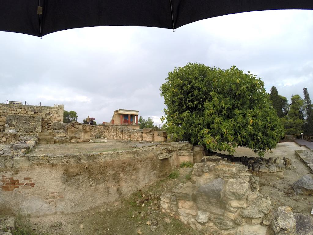 Heraklion, Crete Greece - Palace of Knossos