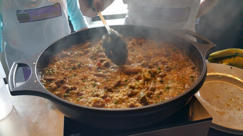 Hostalric, Girona, Spain - Food - Paella