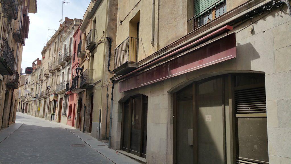 Hostalric, Girona, Spain - Street
