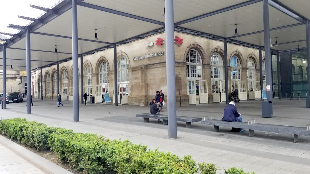 Hull, United Kingdom - Hull Paragon Interchange Station