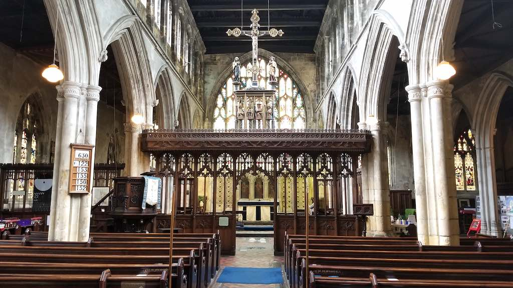 Hull, United Kingdom - St. Mary's Church