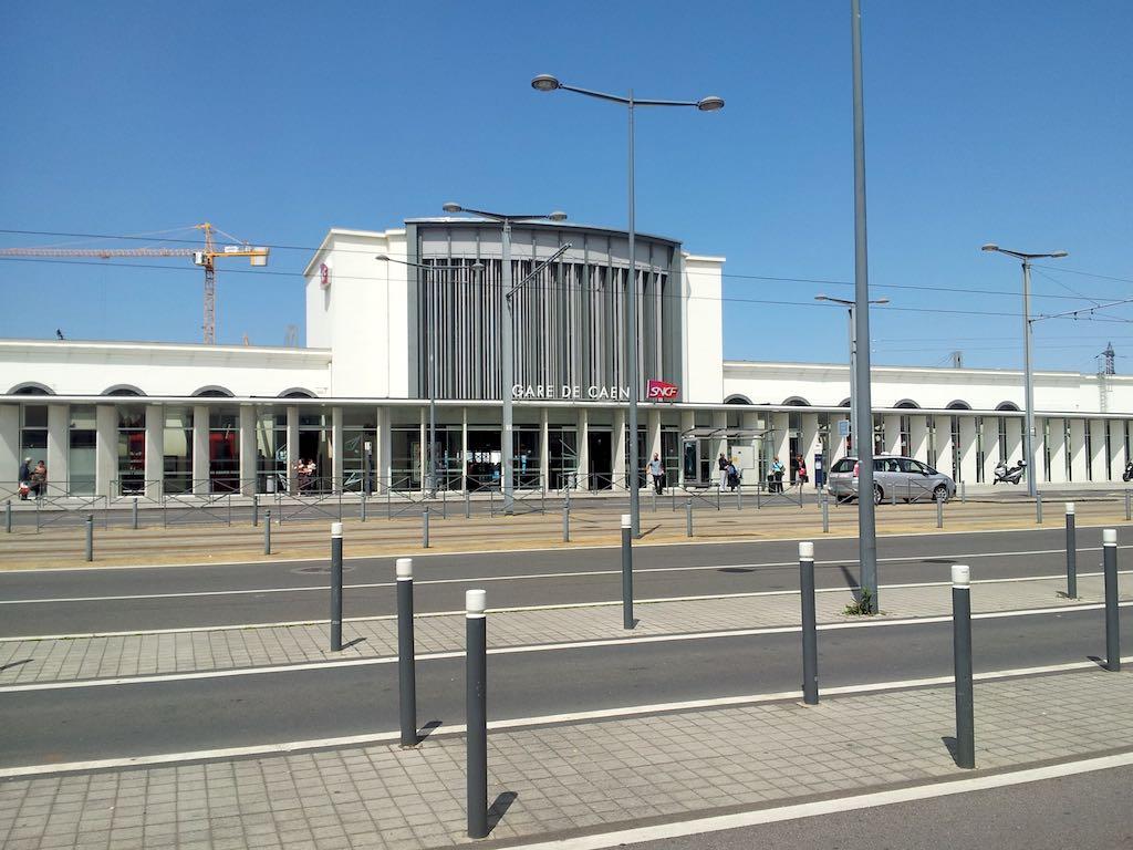Juno Beach Centre, France - Gare de Caen
