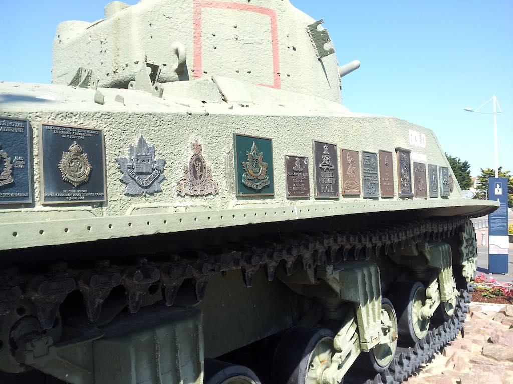 Juno Beach Centre, France - Sherman Tank