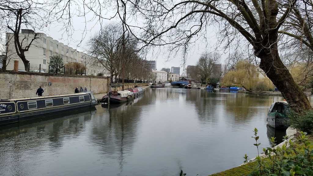 Little Venice, London, United Kingdom narrow boats