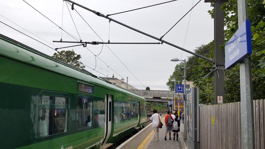 Malahide, Ireland - Malahide Train Station
