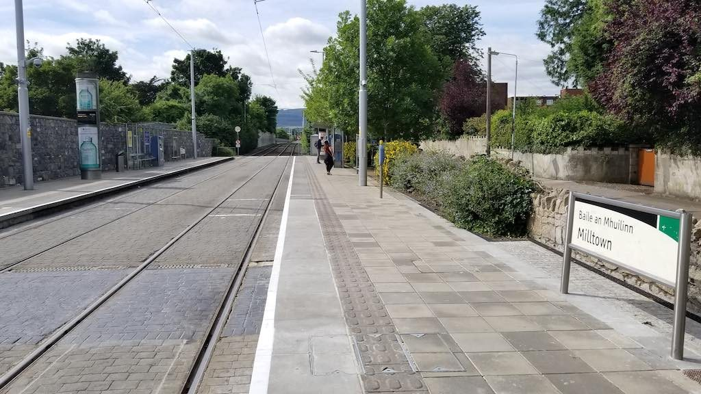 Milltown, Dublin, Ireland - Light Rail Station