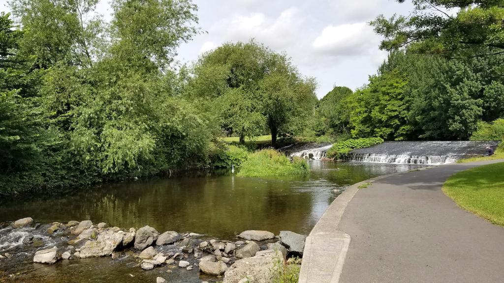 Milltown, Dublin, Ireland - Waterfall