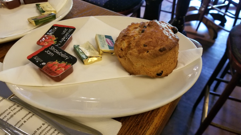 Milltown, Dublin, Ireland - The Dropping Well Fruit Scone