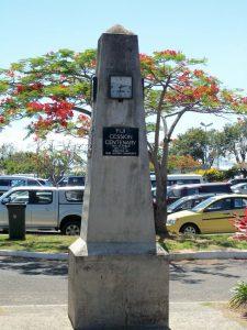 Nadi, Viti Levu, Fiji - Airport Monument