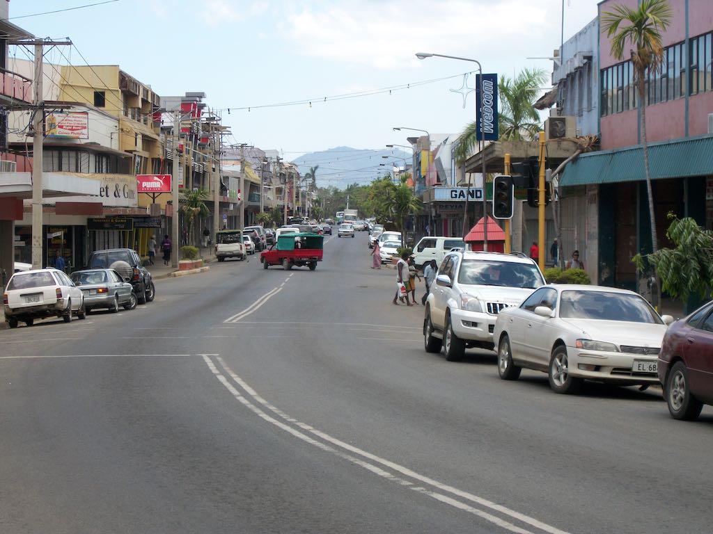 Nadi, Viti Levu, Fiji - Main Street