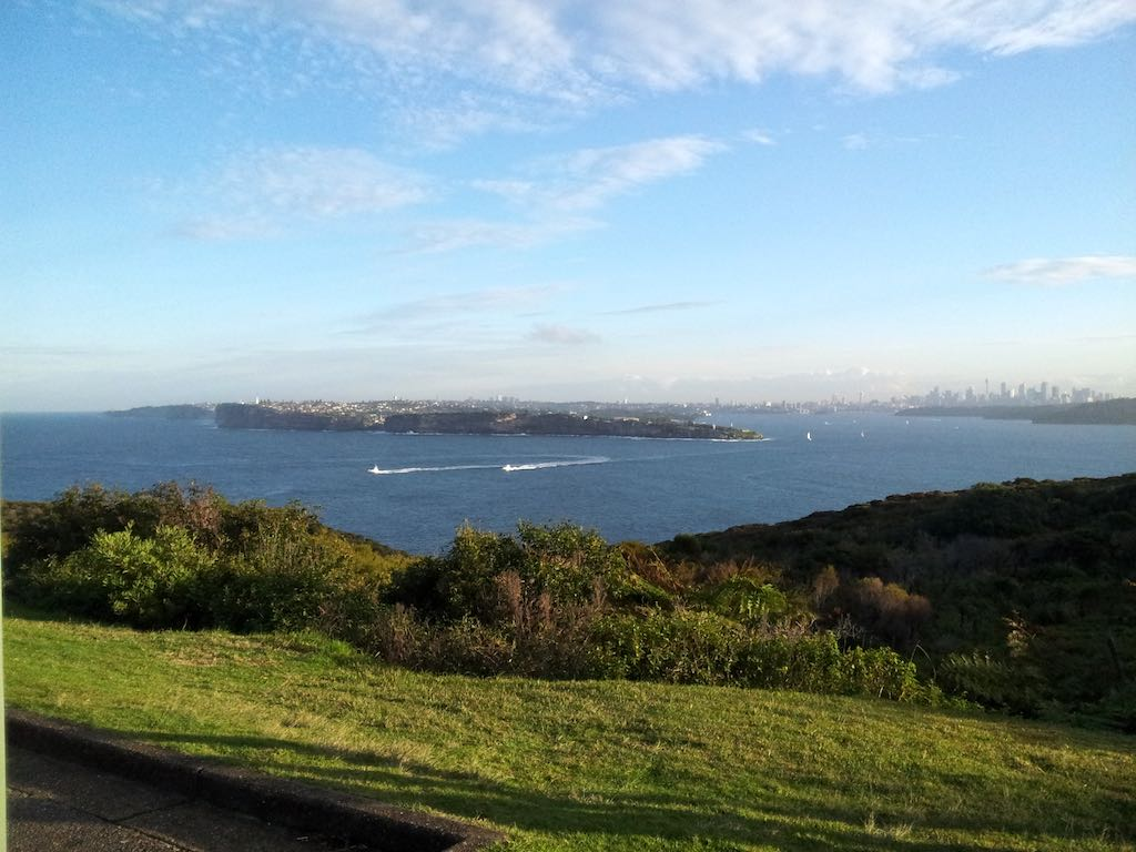 North Head Sanctuary, NSW, Australia - Sydney City view