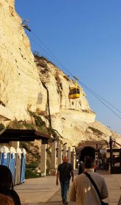 Rosh Hanikra Visitor Center, Israel - Cable car