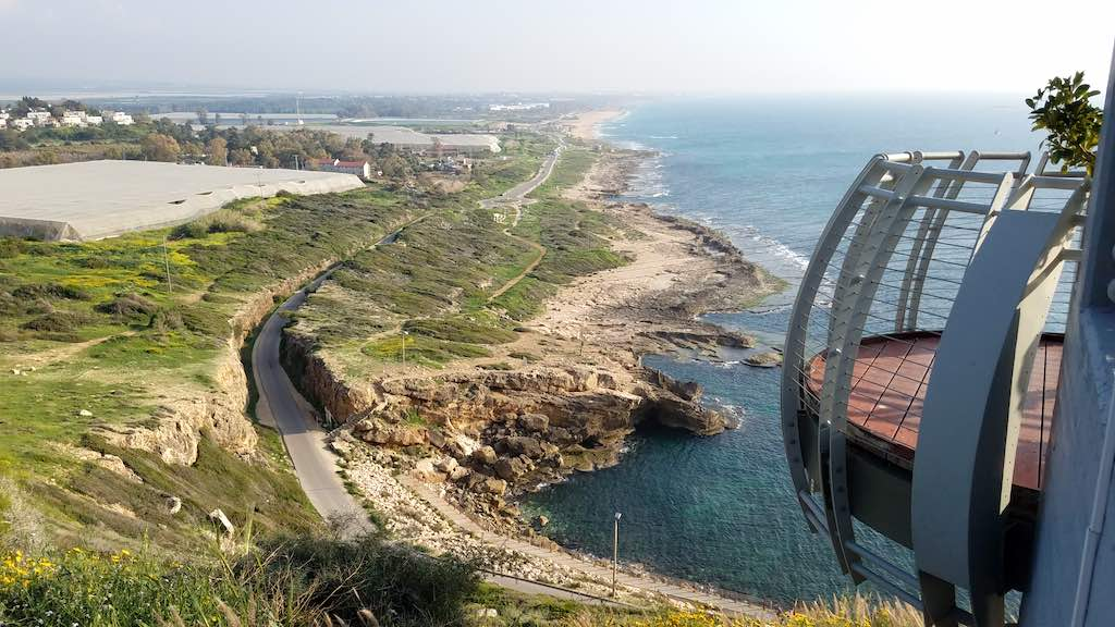 Rosh Hanikra Visitor Center, Israel - Lookout