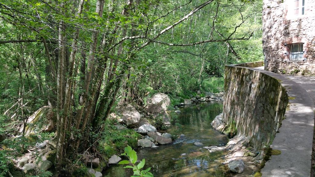 Sant Hilari Sacalm, Girona, Spain - Stream
