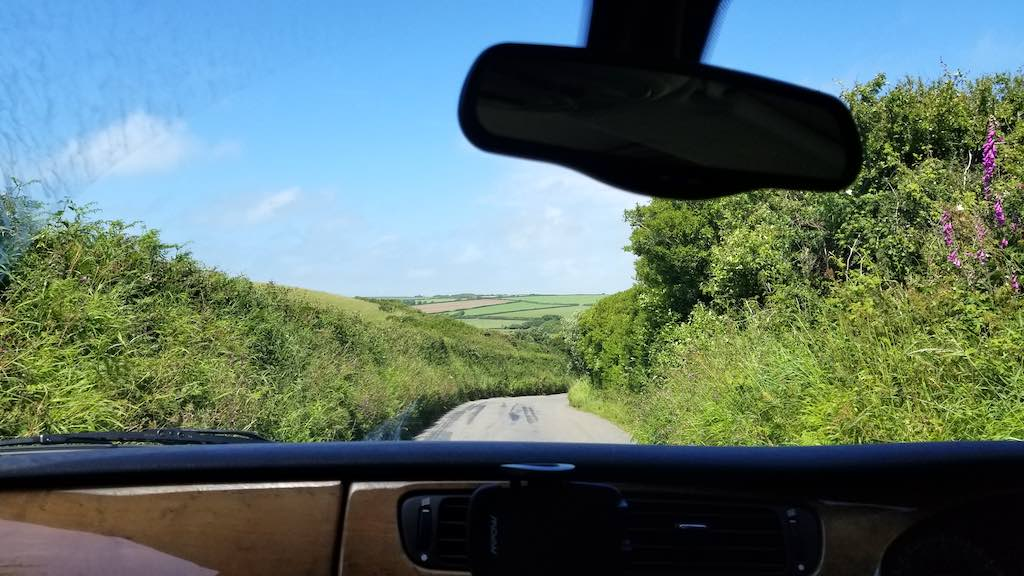 St. Anne's Head, Haverfordwest, United Kingdom - Car view