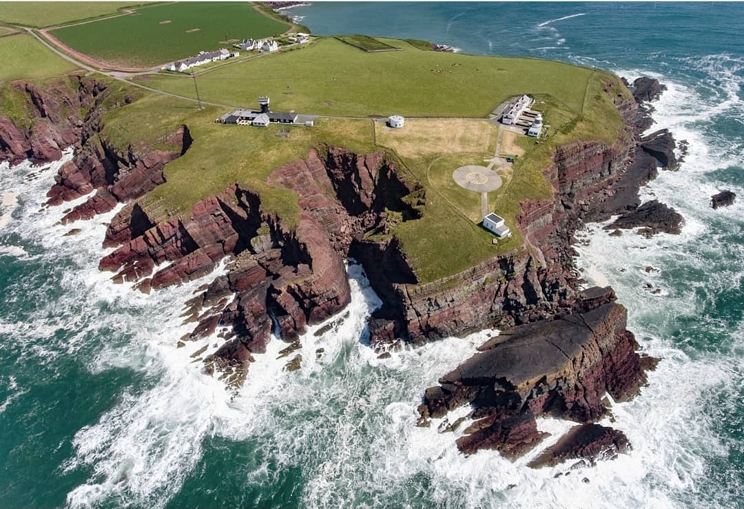 St. Ann's Head Lighthouse, Wales UK