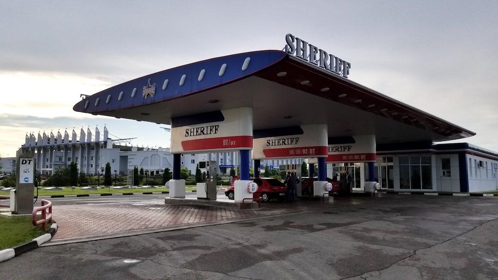 Tiraspol, Transnistra - Sheriff Gas Station