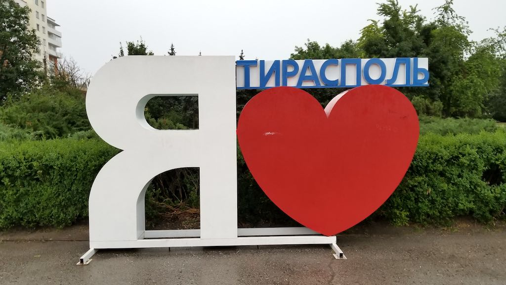 Tiraspol, Transnistra - I Love TIraspol