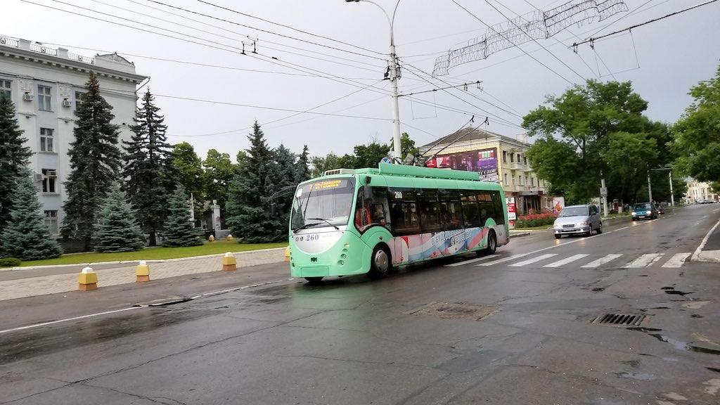 Tiraspol, Transnistra - Local Bus