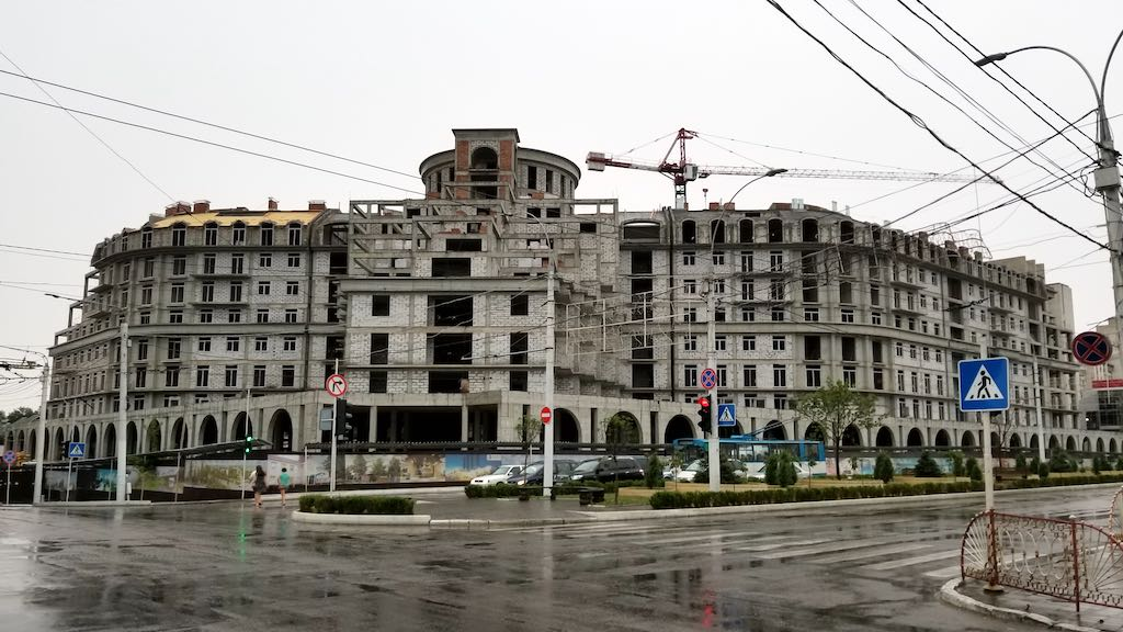 Tiraspol, Transnistra - Unfinished Mall
