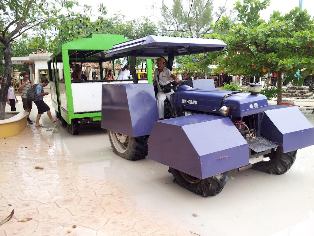Tulum, Mexico - Transportation Tractor