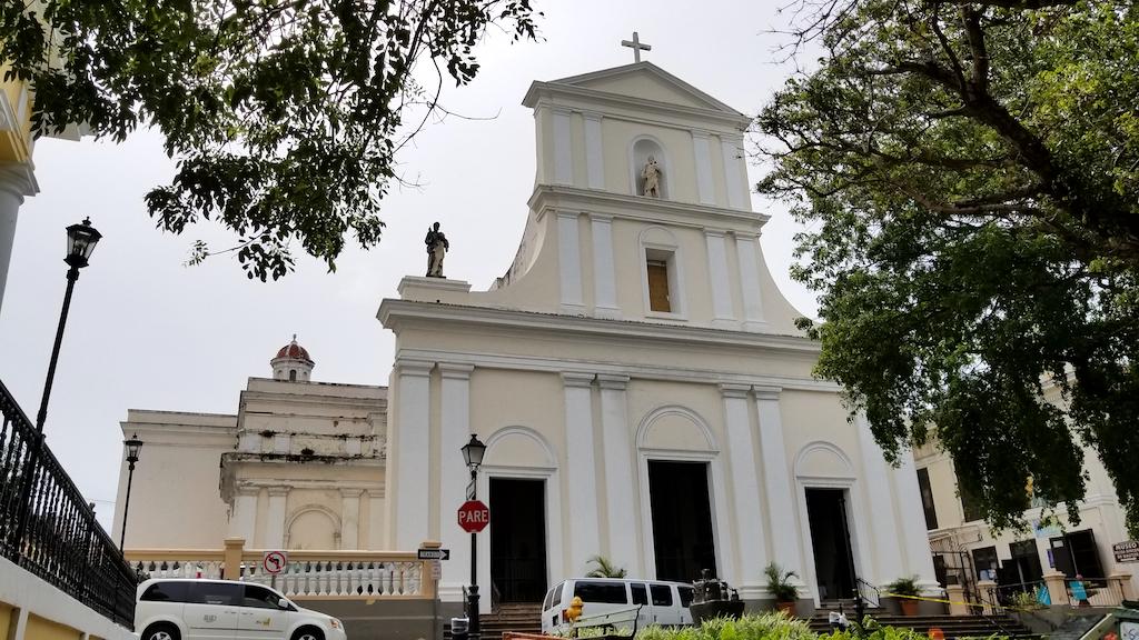 Cathedral de San Juan Bautista, Old San Juan, Puerto Rico