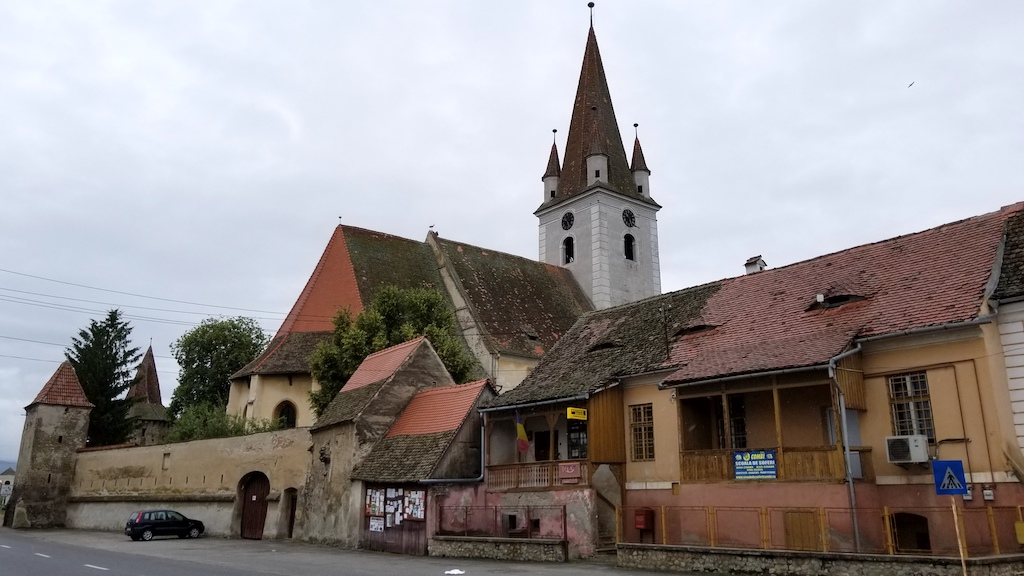 Cristian, Sibiu, Romania - Biserica Sfântul Servatius