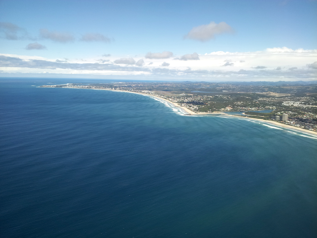 Gold Coast, Queensland, Australia - Aerial view